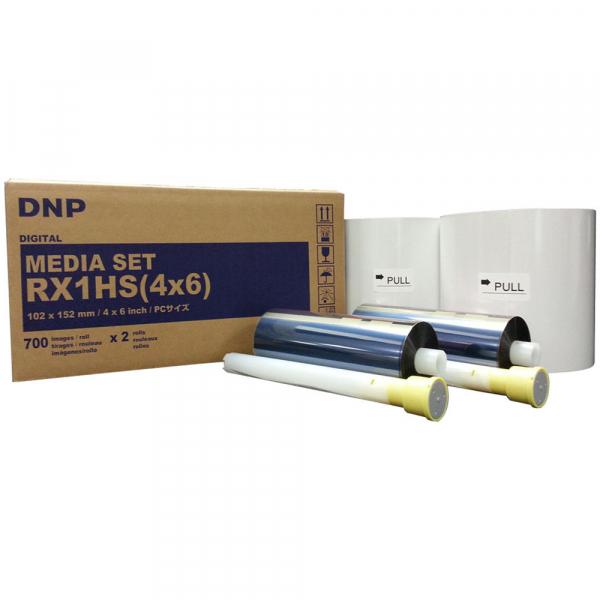 """DNP RX1HS hartie si ribon 10x15cm (4x6"""") 0"""