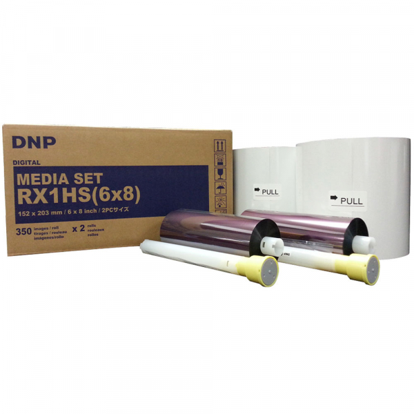 """DNP RX1HS hartie si ribon 15x20cm (6x8"""") 0"""