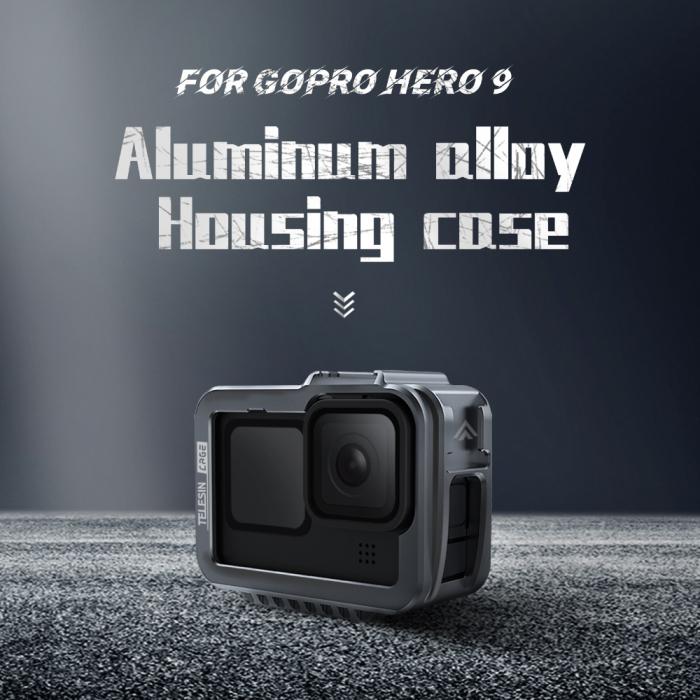 Carcasa/Cage din aluminiu pentru GoPro 9 - GP-FMS-901 [0]