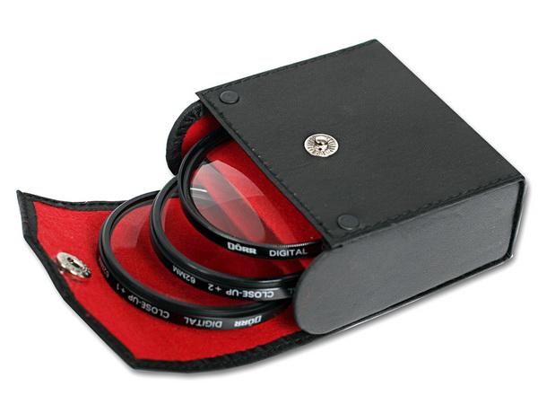 Dorr 62mm Set 3 filtre Macro Close-up: +1, +2, +4 [0]