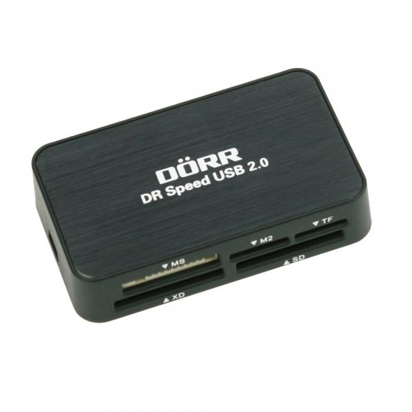 Dorr DR USB 2.0 , cititor carduri CF/SD/microSD/MS/XD/M2 (990326) 0
