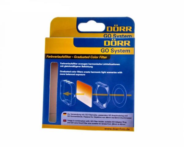 Dorr GO filtru gradual orange,tip Cokin 0