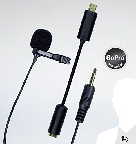 Dorr GP-20 - microfon omnidirectional de tip lavaliera pt camere GoPro [0]