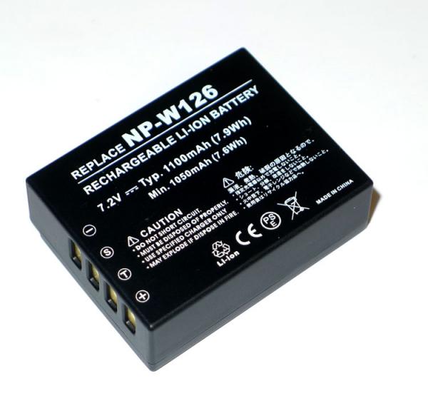 Dorr NP-W126S - acumulator replace pentru Fuji X-T2/X-T3/ X-Pro2/X-H1/X-T20/X-E3 0