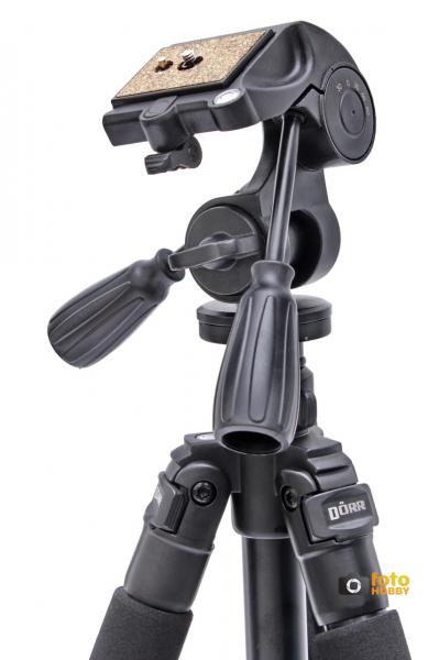Dorr Pro Black 3 XL , trepied foto + cap cu manete [2]