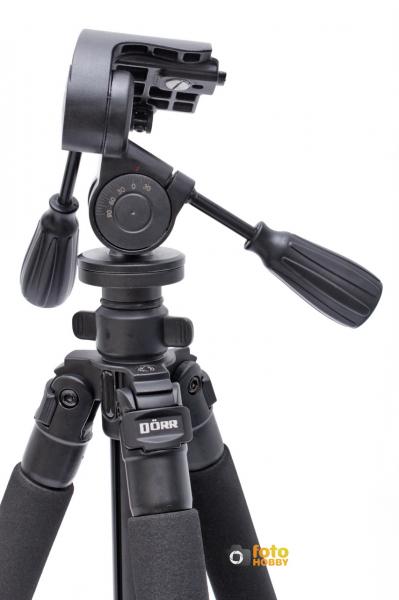Dorr Pro Black 3 XL , trepied foto + cap cu manete [3]