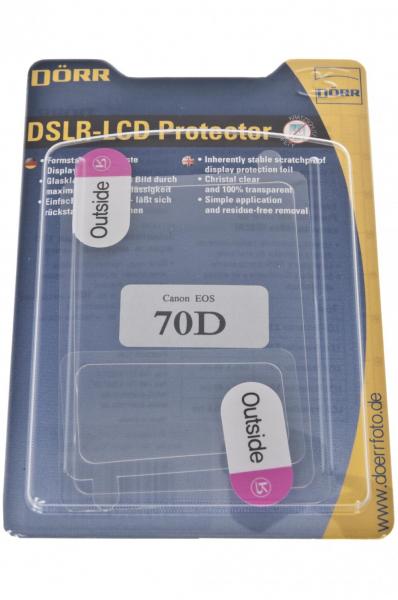 Dorr protectie LCD + TOP pentru Canon 70D [0]
