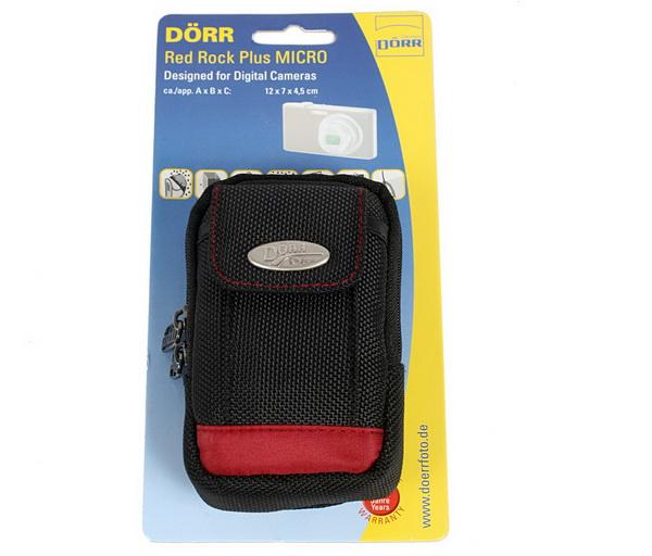 Dorr Red Rock Plus Micro, negru cu rosu , husa foto [0]