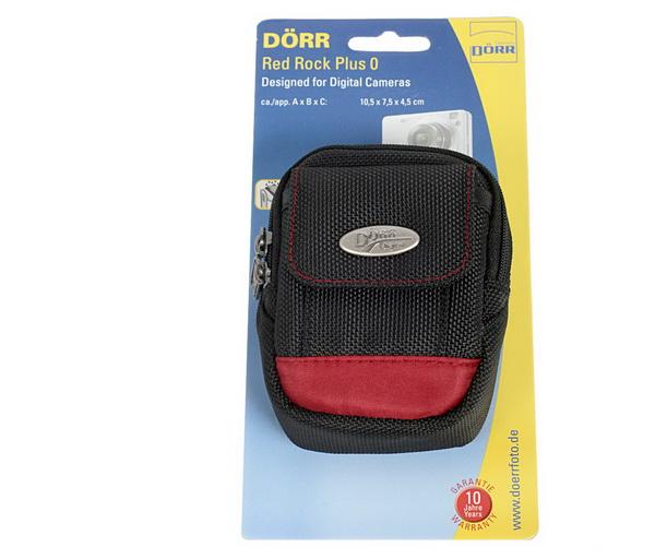 Dorr Red Rock Plus O, negru cu rosu - husa foto [0]