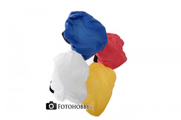 Dorr set de bounce diffusere colorate pentru blitz 1
