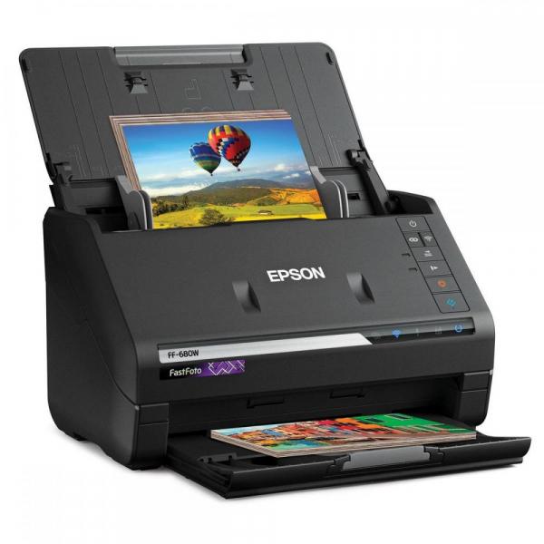 EPSON FastFoto FF-680W - Scaner cu alimentator automat rapid [4]