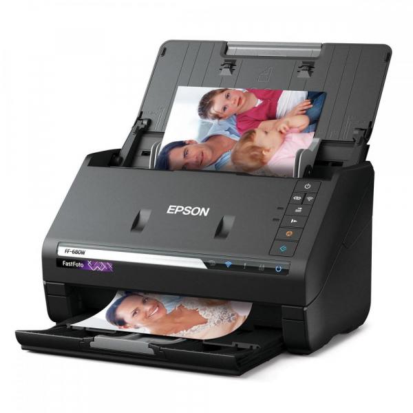 EPSON FastFoto FF-680W - Scaner cu alimentator automat rapid [2]