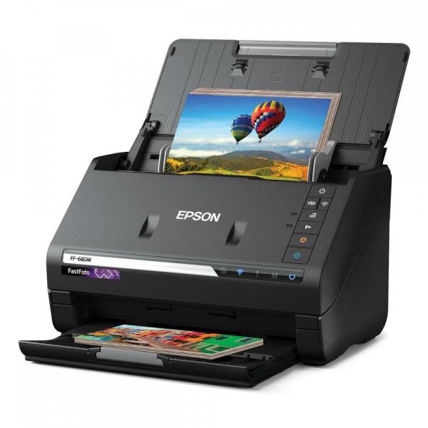 EPSON FastFoto FF-680W - Scaner cu alimentator automat rapid [0]