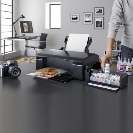 Epson L805 - imprimanta Wi-Fi inkjet A4 cu sistem de cerneala de mare capacitate 6