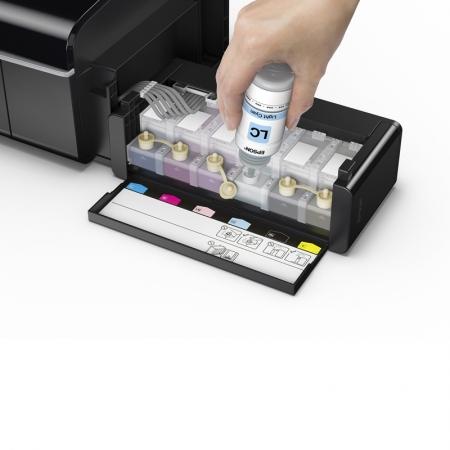 Epson L805 - imprimanta Wi-Fi inkjet A4 cu sistem de cerneala de mare capacitate 4