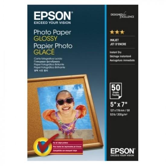 Epson Photo Paper Glossy C13S042545 13x18cm, 50 coli, 200g 0
