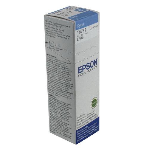 Epson T6732 - cerneala cyan pentru imprimanta Epson L800 1