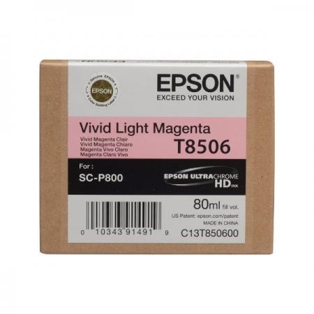Epson T8506 - Cartus Light Magenta pentru SC-P800 [0]