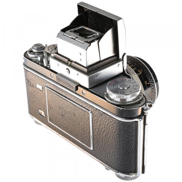 Exakta Varex IIa Model 1961+ Carl Zeiss Tessar 50mm f/2.8 6