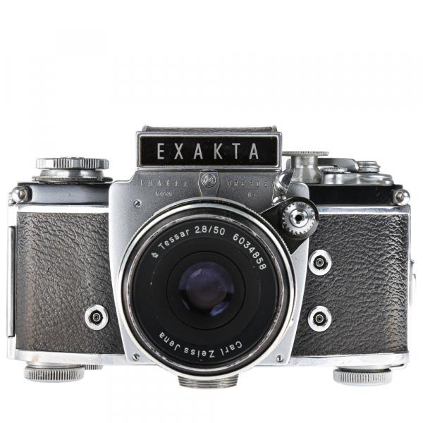 Exakta Varex IIa Model 1961+ Carl Zeiss Tessar 50mm f/2.8 1