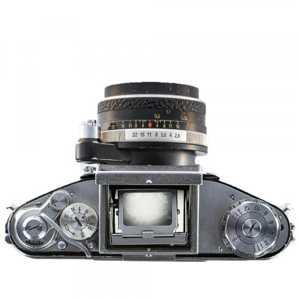 Exakta Varex IIa Model 1961+ Carl Zeiss Tessar 50mm f/2.8 9
