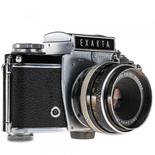 Exakta Varex IIa Model 1961+ Carl Zeiss Tessar 50mm f/2.8 2