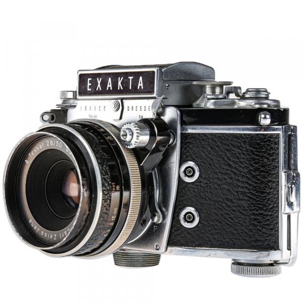 Exakta Varex IIa Model 1961+ Carl Zeiss Tessar 50mm f/2.8 0