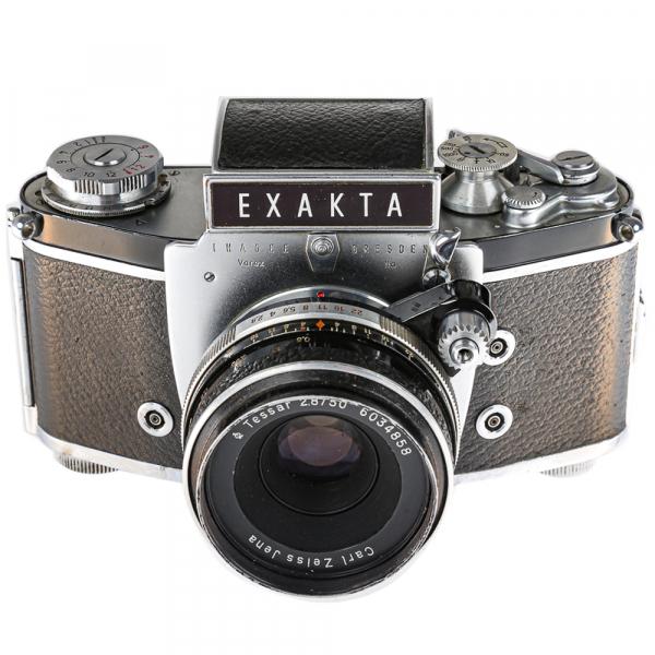 Exakta Varex IIa Model 1961+ Carl Zeiss Tessar 50mm f/2.8 4