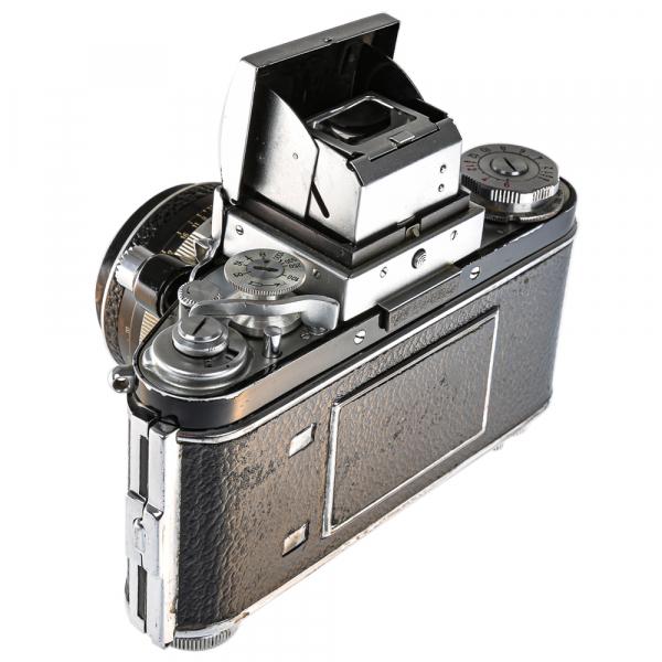 Exakta Varex IIa Model 1961+ Carl Zeiss Tessar 50mm f/2.8 8