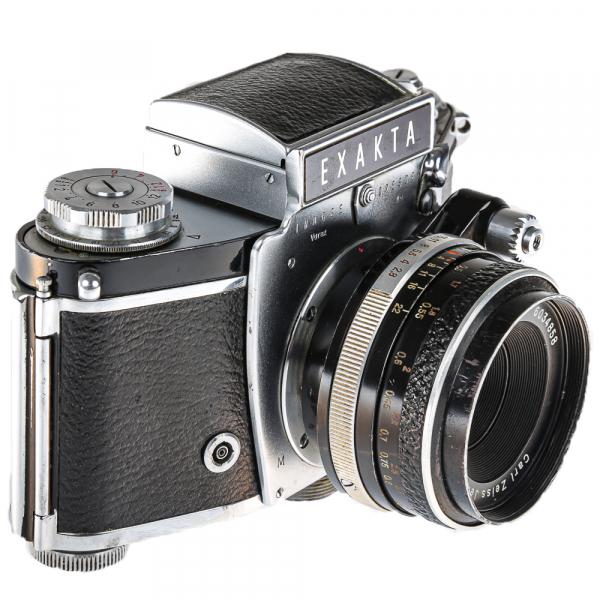 Exakta Varex IIa Model 1961+ Carl Zeiss Tessar 50mm f/2.8 3
