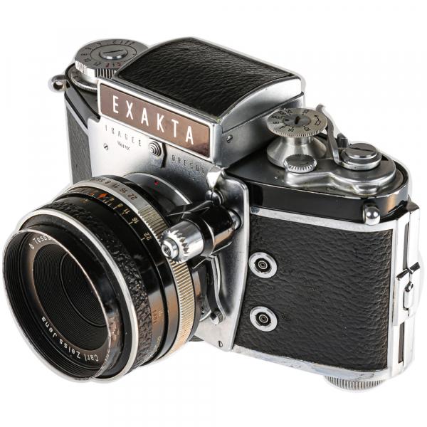Exakta Varex IIa Model 1961+ Carl Zeiss Tessar 50mm f/2.8 5