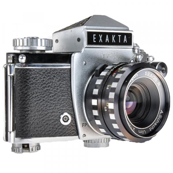 Exakta Varex IIb,Travegon 3,5/35mm 2