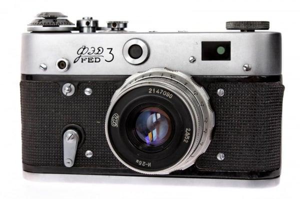 Fed 3 + Industar-26 52mm f/2.8 , aparat de colectie [0]