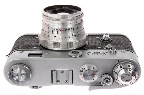 Fed 3 + Industar-26 52mm f/2.8 , aparat de colectie [4]