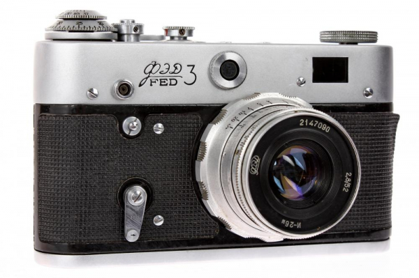 Fed 3 + Industar-26 52mm f/2.8 , aparat de colectie 1