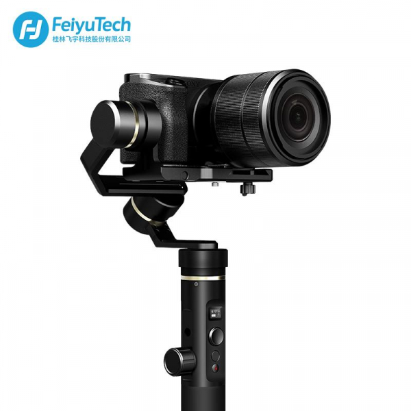 Feiyu Tech G6 Plus Sistem de Stabilizare pe 3 Axe - pt. camere de actiune, mirroless si smartphone [2]