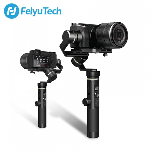 Feiyu Tech G6 Plus Sistem de Stabilizare pe 3 Axe - pt. camere de actiune, mirroless si smartphone [1]