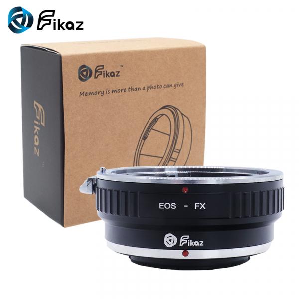 FIKAZ , adaptor de la Obiectiv montura Canon EF la body montura Fujifilm X 0