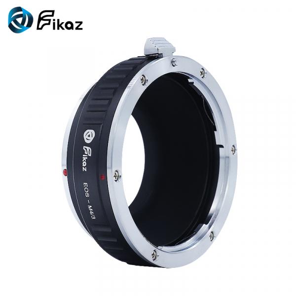 FIKAZ , adaptor de la obiective montura Canon EF la body montura Olympus / Panasonic Micro 4/3 (MFT) 2