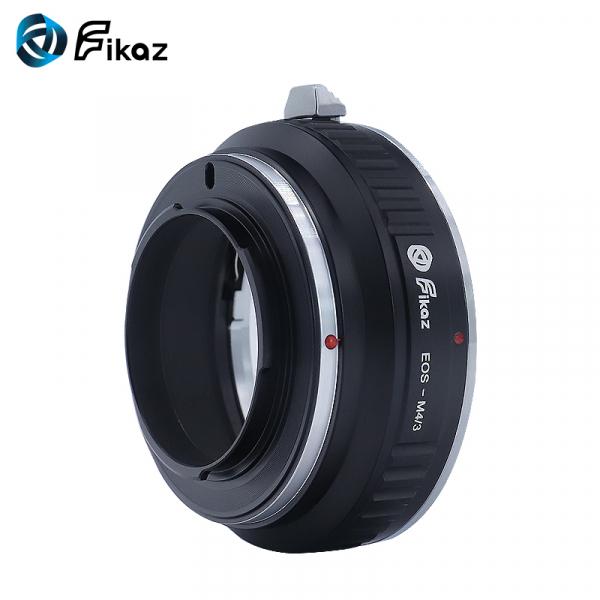 FIKAZ , adaptor de la obiective montura Canon EF la body montura Olympus / Panasonic Micro 4/3 (MFT) 3