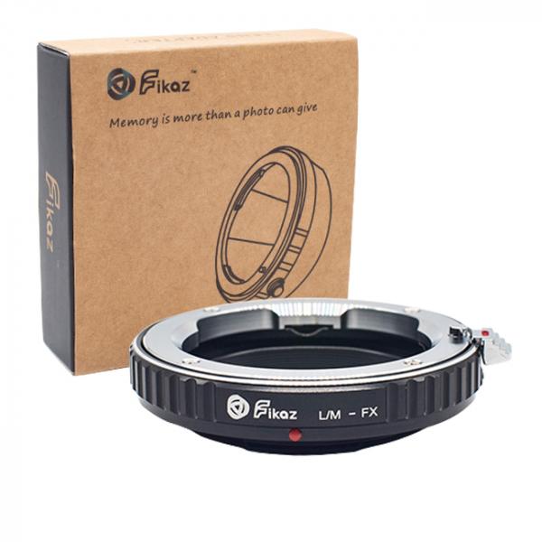 FIKAZ , adaptor de la obiective montura Leica M la body montura Fujifilm X 0