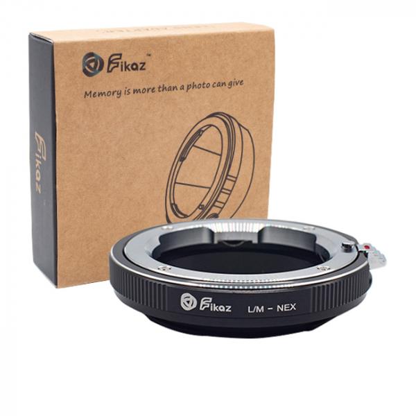 FIKAZ , adaptor de la obiective montura Leica M la body montura Sony E (NEX) 0