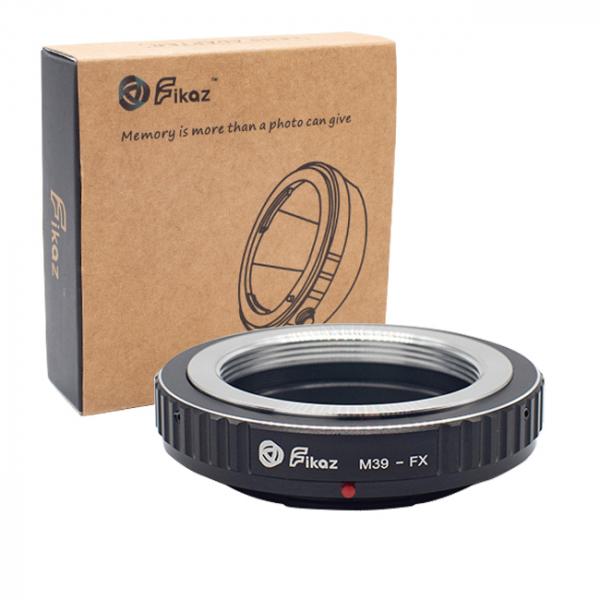 FIKAZ , adaptor de la obiective montura M39 la body montura Fujifilm X 0
