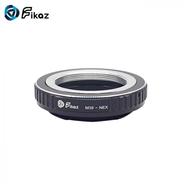 FIKAZ , adaptor de la obiective montura M39 la body montura Sony E (NEX) [1]