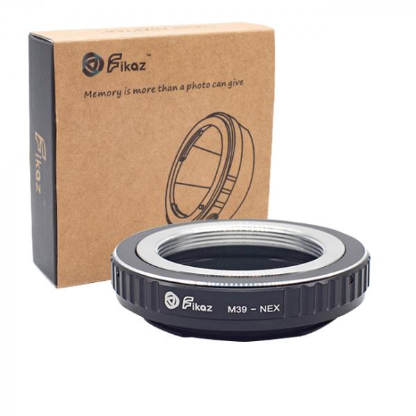 FIKAZ , adaptor de la obiective montura M39 la body montura Sony E (NEX) [0]