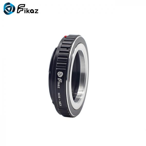 FIKAZ , adaptor de la obiective montura M39 la body montura Sony E (NEX) [2]