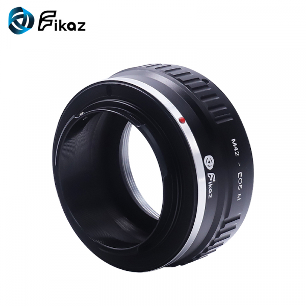 FIKAZ , adaptor de la obiective montura M42 la body montura Canon EOS M 3