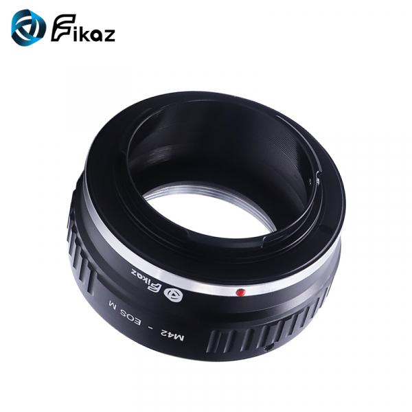 FIKAZ , adaptor de la obiective montura M42 la body montura Canon EOS M 4