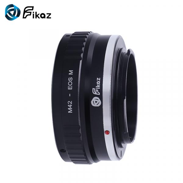 FIKAZ , adaptor de la obiective montura M42 la body montura Canon EOS M 5