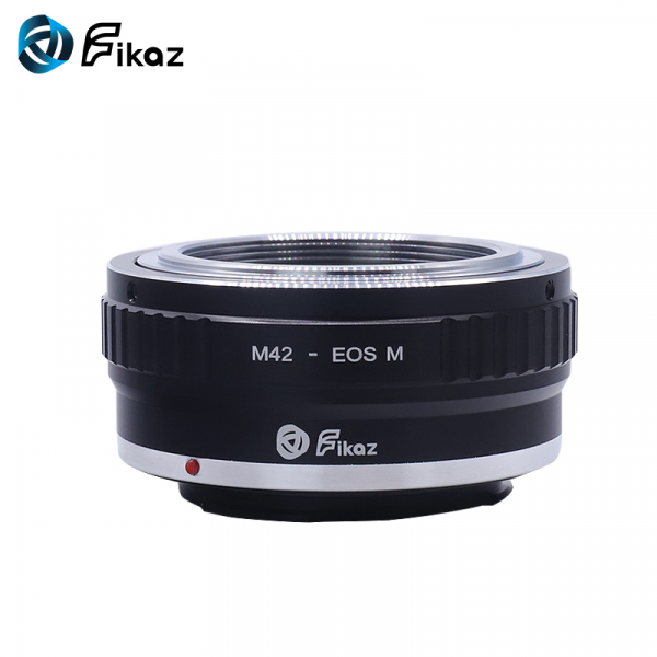 FIKAZ , adaptor de la obiective montura M42 la body montura Canon EOS M 1